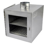 Camp Stove Pipe Oven - Stainless Steel / Suits Med & Large Stoves