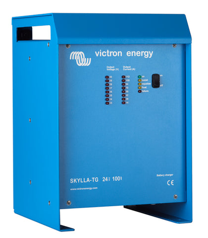 Victron Skylla-TG Battery Bank Charger - 24 V / 48 V / 25 to 100 A output