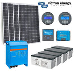 Victron 'Tiny Home Designer' Off Grid System - 1.1 Kw PV / 3 kVa Inverter / 9.6 kWh Battery Bank