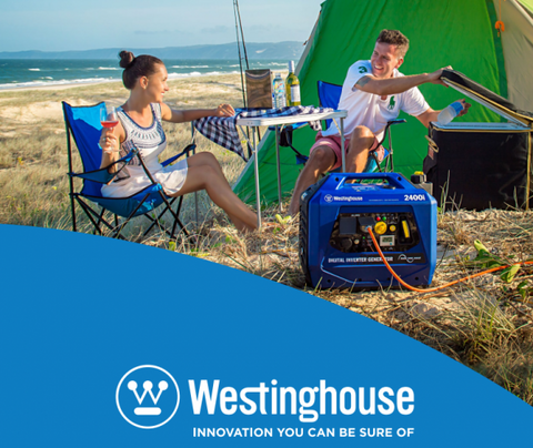 Westinghouse Digital Inverter Generator - Petrol / 2.4 KVa / Quiet