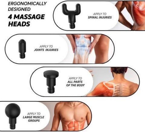 SORERELIEF MULTI-SPEED MASSAGE GUN