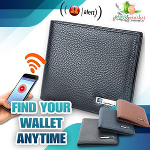 Anti-Lost Trackable Security Wallet