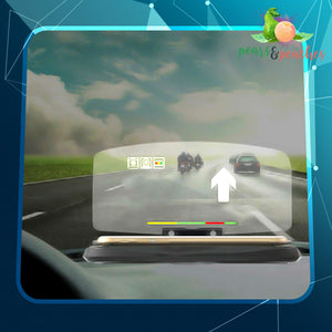 Advanced Car HUD Navigation Head Display