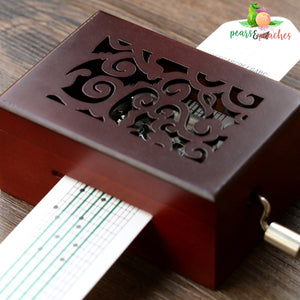 Paper Notes Music Box