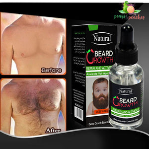 Natural Beard Growth Serum