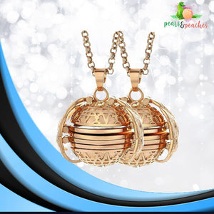 Expandable Wings Photo Locket