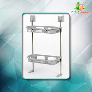 Two-Tier Nail-Free Shelf