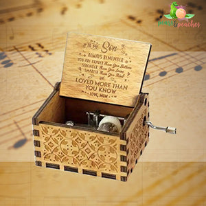 Vintage Hand-Cranked Music Box