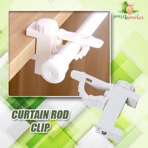 No-Drill Curtain Rod Wall Hooks