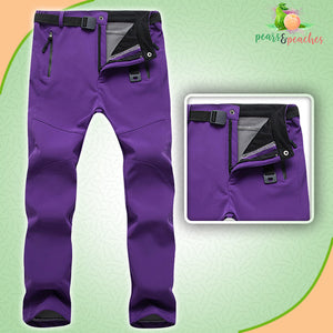 Fleece-Lined Cold-Proof Winter Trousers