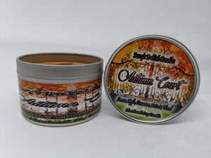 Autumn Court - Lemon, Apple, Cinnamon, Anise & Wood - Bookish Candle