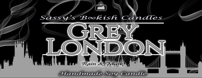 Grey London - Rain & Musk - Bookish Candle