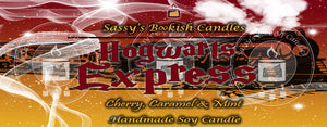 Hogwarts Express - Cherry, Caramel & Mint - Bookish Candle