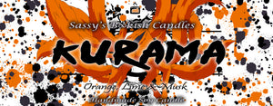Kurama - Orange, Lime & Musk - Bookish Candle