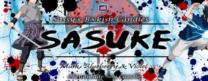 Sasuke - Musk, Blueberry & Violet - Bookish Candle