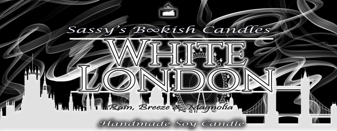White London - Rain, Breeze & Magnolia - Bookish Candle