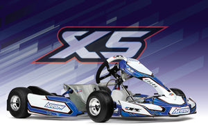 The all new ARROW X5 CADET kart