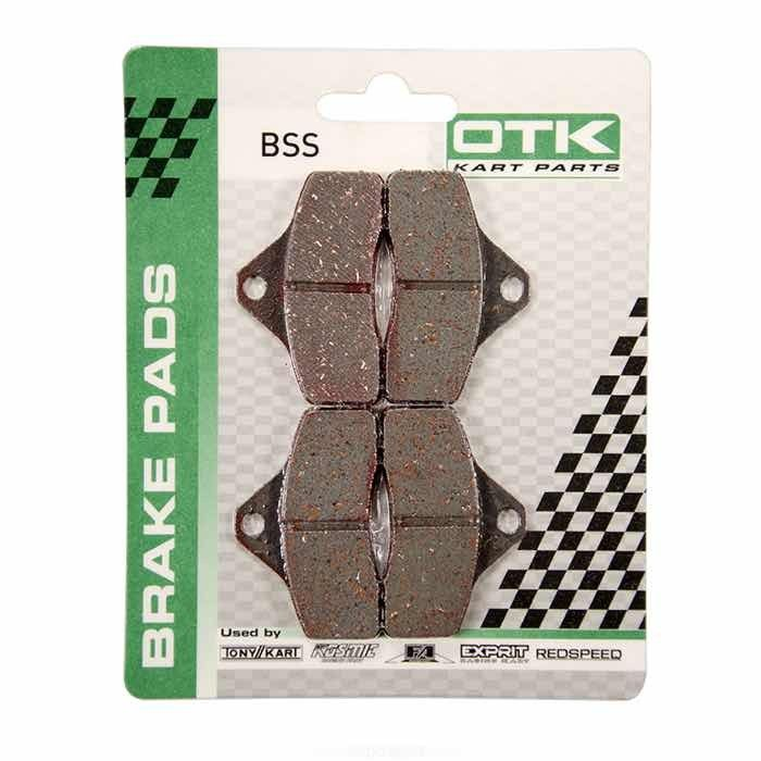 OTK Brake Pad Set BSS Rookie EV Rear | KZ Front 4 Pads