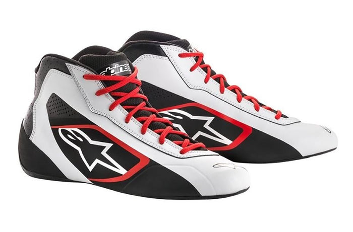 Alpinestars Boots Tech 1 K Start White | Black | Red
