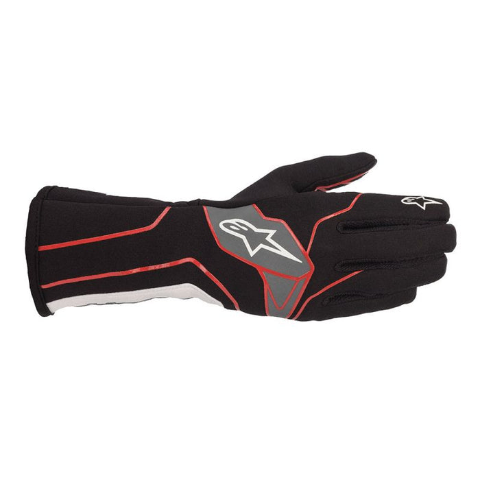 Alpinestars Gloves Tech 1 K V2 Black | Red | White