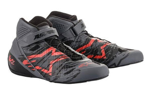 Alpinestars Boots Tech 1 KZ 2020 Special Edition Cool Grey | Black | Red