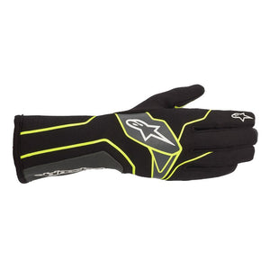 Alpinestars Gloves Tech 1 K V2 Black | Yellow Fluro | Anthracite