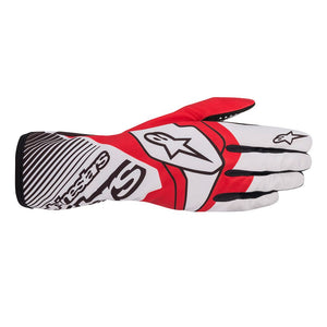 Alpinestars Gloves Tech 1 K Race V2 White | Red