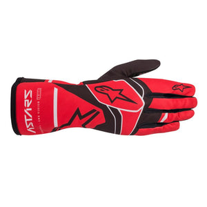 Alpinestars Gloves Tech 1 K Race S. Youth V2 Solid Red | Black | Grey
