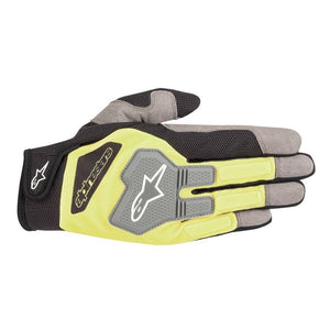 Alpinestars Gloves Engine Black | Yellow Fluro
