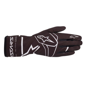 Alpinestars Gloves Tech 1 K Race V2 Solid Black | White