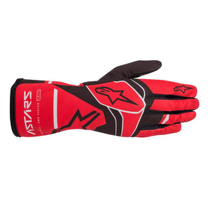 Alpinestars Gloves Tech 1 K Race V2 Solid Red | Black | Grey