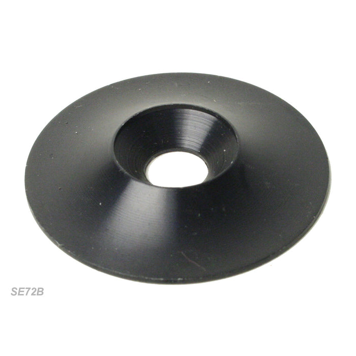 Kartech Seat Washer C|Sunk Black Alloy 8mm