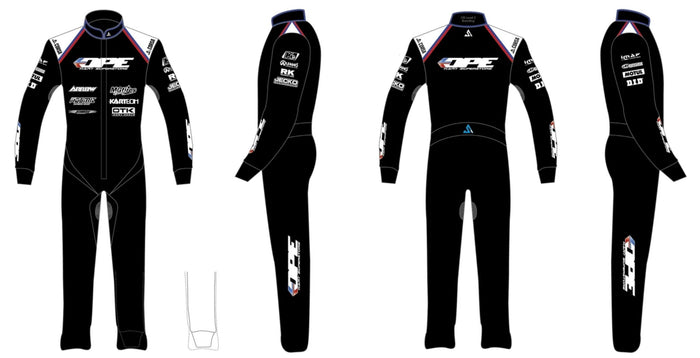 DPE Suit Race Team Rain