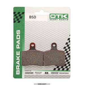 OTK Brake Pad BSD Set 2017 CIK Also KZ Rear - 2 PCS Box