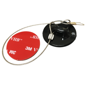 DKAM Camera Tether Stainless Steel with 3M Sticker