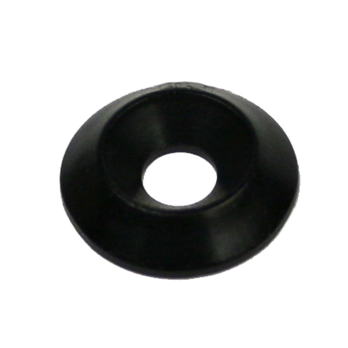 Kartech Floor Tray Washer C|Sunk Black Plastic 6mm