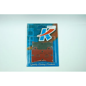 Kartech Brake Pads 11mm Soft Red Set