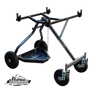 Kart Trolley Stone Team Trolley 4 Wheel type