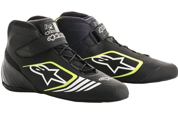 Alpinestars Boots Tech 1 KX Black | Yellow Fluro