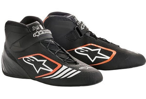 Alpinestars Boots Tech 1 KX Black | Orange Fluro