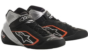 Alpinestars Boots Tech 1 KZ Black | Silver | Orange Fluro