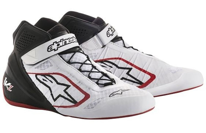 Alpinestars Boots Tech 1 KZ White | Black | Red