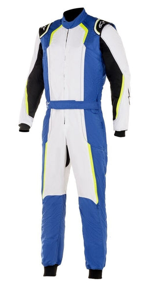 Alpinestars Suit KMX-5 Royal Blue | White | Yellow Fluro