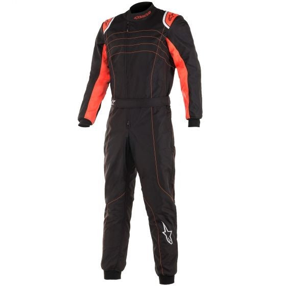 Alpinestars Suit Kmx-9 Black | Red Fluro