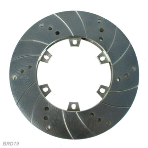 Kartech Brake Disc Radialy Vented 189 x 85 x 18 Blue Zinc