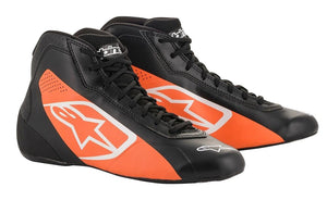 Alpinestars Boots Tech 1 K Start Black | Orange Fluro