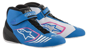 Alpinestars Boots Tech 1 KX Blue | Black | Fuchshia