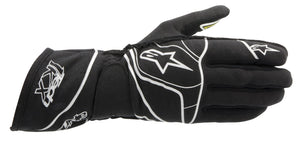 Alpinestars Gloves Tech 1-KX Black | White | Yellow