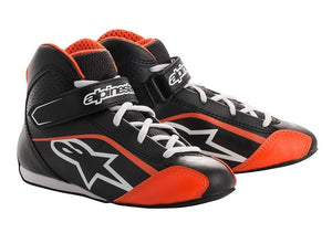 Alpinestars Boots Tech 1 K S Black | White | Orange Fluro