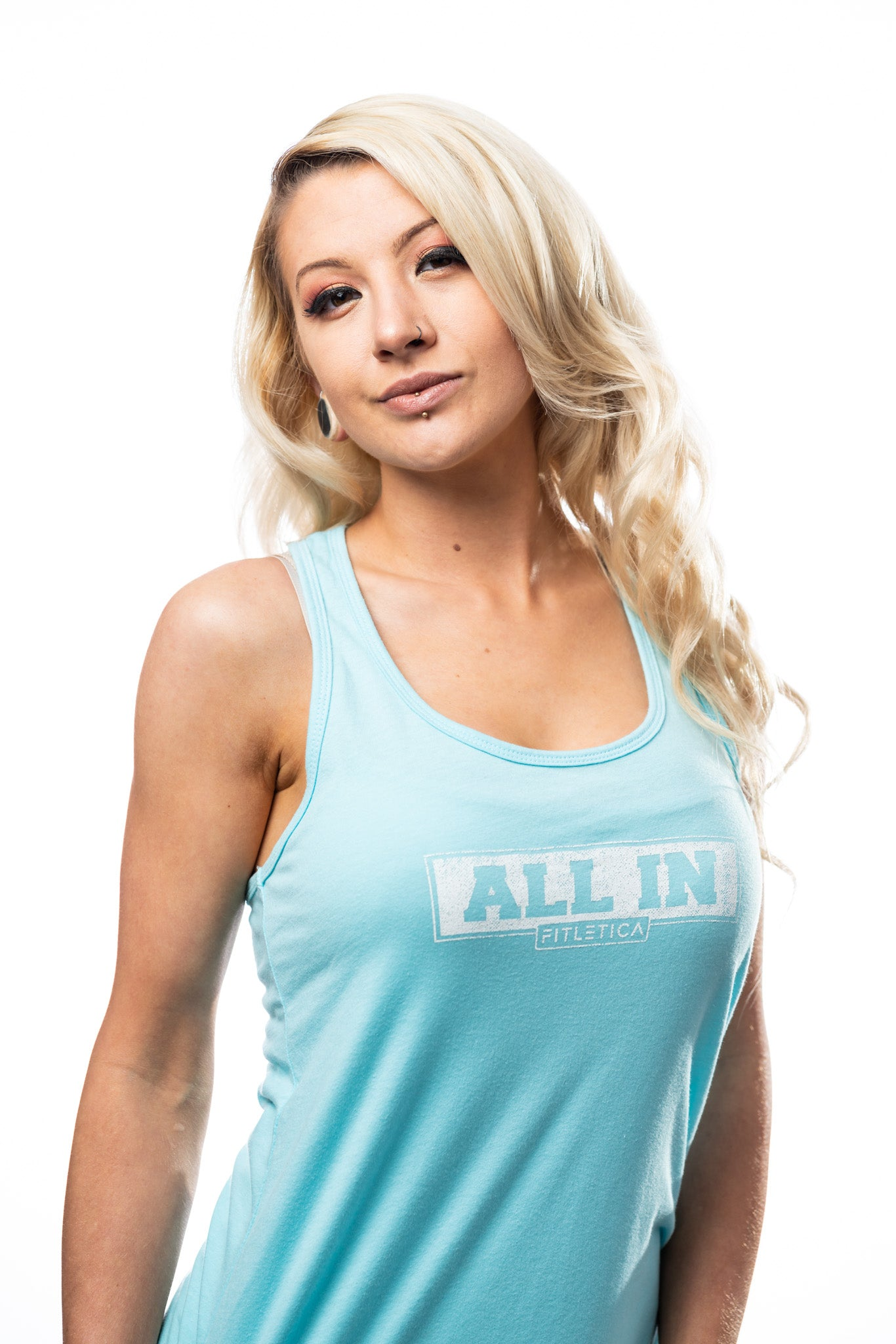 ALL IN Tank - Sky Blue